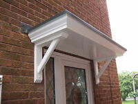 BRAND NEW STANDARD SCROLLED DOOR CANOPY TO FIT A SINGLE DOORWAY