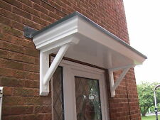 BRAND NEW MADE TO ORDER SCROLLED DOOR CANOPY/PORCH  TO FIT A SINGLE DOORWAY