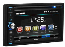 """Soundstorm 6.5"""" Double-Din In-Dash Touchscreen Monitor Dvd Usb Player Car Stereo"""