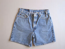 Mens Levis Relaxed Fit Shorts Blue Denim Size 36 Jean 34""