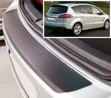 Ford S-Max - Carbon Style rear Bumper Protector