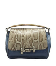 Tods Double T Multi-Color Python Crossbody Bag