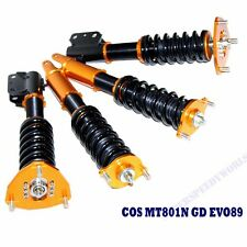 Gold Suspension Coilover Lowering Kits for 2003-2007 Mitsubishi Lancer EVO 8 9