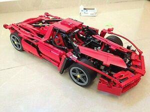 Educational Super Game Race Sport Car Toy 1:10 Model DIY Building Blocks 1359pcs