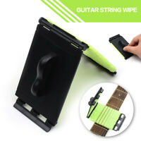Guitar Bass Violin Strings Scrubber Rub Cloth Cleaning Maintenance Care Cleaner