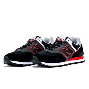 New Balance ML574SM2 Sneaker Herren Laufschuhe Retro Running Schuhe Schwarz