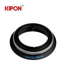 Kipon Adapter For Canon FD Lens to Fuji Fujifilm G-Mount GFX 50S pro Camera