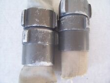 "TWO 2 1/2"" NH / NST Fire Hose Aluminum Coupling Sets of Two 2 Male and 2 Female"