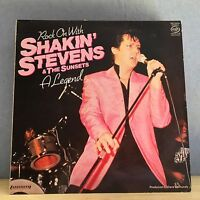 Rock On With Shakin' Stevens & The Sunsets 1981 UK vinyl  LP EXCELLENT CONDITION