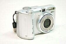 Canon PowerShot A630 8.0MP Digital Camera - Silver  /  Camera Only