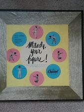 "VTG 1945 Record Set of 3 ""Milady, Your Figure! ""Susan Carroll Exercise Fun"