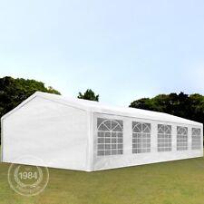 Partyzelt Pavillon Festzelt Bierzelt Gartenzelt Vereinszelt Zelt weiß 5x10m
