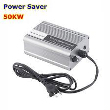 50KW Power Energy Saver Saving Box Electricity Bill Killer Up to 30-40% US Plug