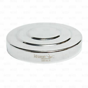 """Draft Beer Tower 3"""" Chrome Replacement Cap Top Lid Cover"""