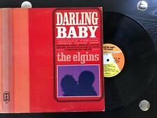 THE ELGINS DARLING BABY LP RECORD ITEM #2284-20