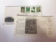 **BRITISH GARDENS 1983 ROYAL MAIL UK FIRST DAY COVER - GOOD CONDITION**