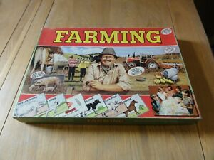 VINTAGE  FARMING  Board Game