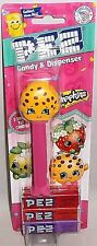 SHOPKINS  Pez Dispenser  KOOKIE COOKIE [carded]  2x The Candy