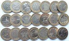 £2 Two Pound Commemorative Coin Shakespeare WW1 Dickens Darwin Brunel Locomotive