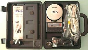 """RARE Sony Pyxis GPS Ips-360 System for Land/air/sea Handheld """"1991"""" Excellent OB"""