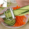 Stainless Steel Potato Peeler Carrot Grater Julienne Fruit Vegetable Cutter Tool