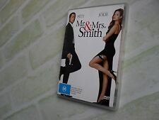 MR. & MRS, SMITH - BRAD PITT - REGION 4 PAL DVD
