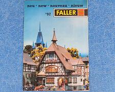 Faller  -- Modellbau Prospekt  1997