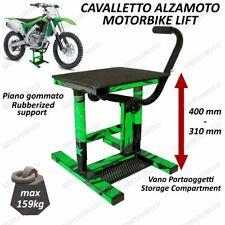 Stand Motorcycle Paddock Middle cross Enduro Motard Universal Offroad Green