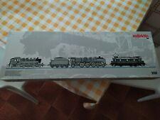 Märklin H0 - 3100 - Locomotiva a vapore, Locomotiva elettrica - BR 03, BR 86 e E