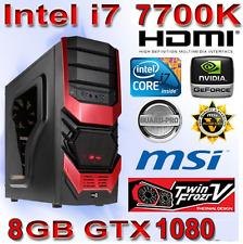 Gamer PC Intel Core i7 7700K 4x4,50Ghz-16GB DDR4-Nvidia 8GB GTX1080 - Gaming