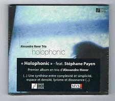 ALEXANDRE HERER TRIO - HOLOPHONIC - CD 10 TITRES - 2014 - NEUF NEW NEU