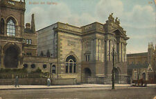 """early 1900s colour postcard titled """" bristol art gallery """" avonvale series"""