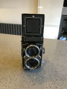 Rolliflex TLR Camera, vintage, with rare Carl Zeiss Biometar 1:2.8 80mm lens