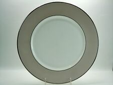 "LENOX CHINA FEDERAL PLATINUM FROST 11 7/8"" SERVICE PLATE UNUSED"