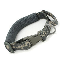Hunting Dog Collar with Handle Heavy Duty Nylon Tactical Training for M L Dog