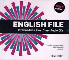 Oxford ENGLISH FILE Intermediate Plus THIRD EDIT Class Audio CDs I Koenig @NEW@