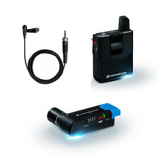 Sennheiser AVX Camera-Mountable Lavalier Digital Wireless Set AVX-ME2 SET-4-US