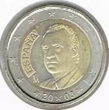 Spanje 2003 UNC 2 euro : Standaard
