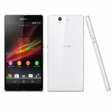 "5.0"" Sony Ericsson Xperia Z C6603 Unlocked 16gb 13.1mp Android Smart Phone White"