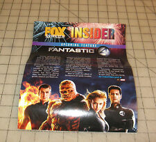 FOX REWARDS INSIDER (July 2005) Movie Theater Promotional Pamphlet FANTASTIC 4