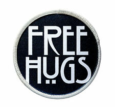 Patch - Free Hugs Patch - Heat Seal / Iron on Patch for jackets, shirts - Horror