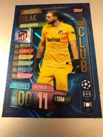 MATCH ATTAX EXTRA 2019/20 JAN OBLAK 100 HUNDRED CLUB NO CLU1 MINT