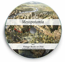 Ancient Mesopotamia Rare Books on DVD History Legends Sumeria Babylon Assyria G5