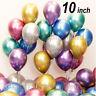 "10 or 20 Chrome Balloons Metallic Latex Pearl 10"" Helium Balloon Birthday Party"