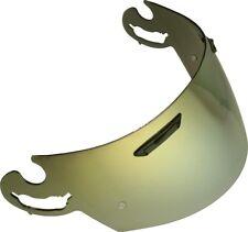 Visiera ARAI specchio ORO visor I-type nuovo casco RX7-GP,DNA,QUANTUM2,Chaser...