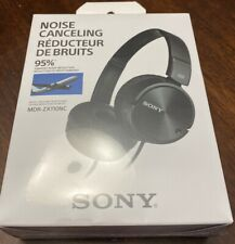 SONY Noise Canceling Headphone MDR-ZX110NC