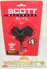 Scott BLITZ Release Buckle Strap, Black-3020BS-BK
