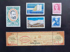 1975 - Romania - Various Series , Mi. 3266,3291, 3293,3294-3296,3309-3310 Mnh