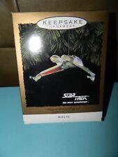 Star Trek Klingon Bird Of Prey 1994 Hallmark Keepsake Magic Christmas Ornament