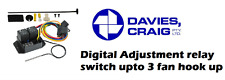 Davies Craig Digital Relay Thermo Fan Switch Digital Thermatic Fan Switch Kit